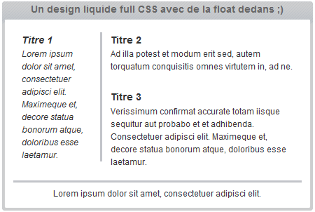 design css liquide ou fluide Reloaded