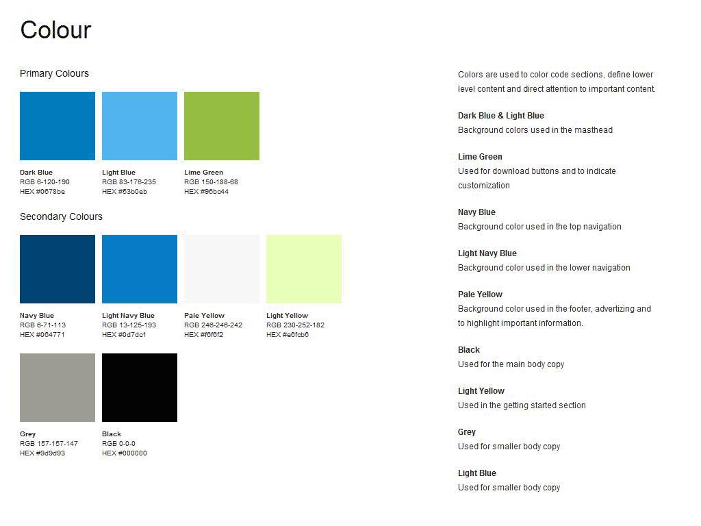 Guide stylistique — Exemple de charte graphique et éditoriale | 4design