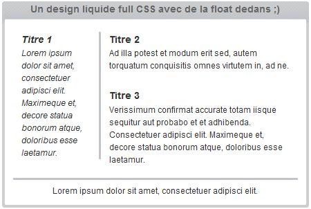design css liquide ou fluide Reloaded