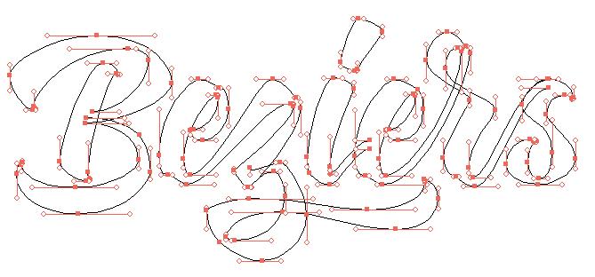 Illustration en mode coutours